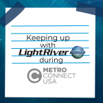 Keeping Up With LightRiver! Metro Connect 2021 JSA TV Interview
