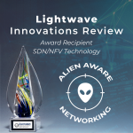 Alien Aware Networking Wins Big with Lightwave Innovation Reviews!